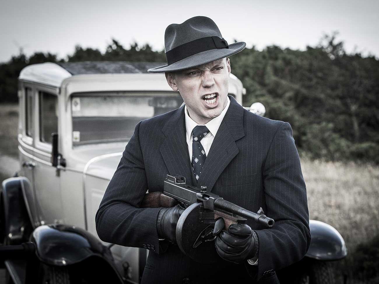 Byssan Lull kortfilm tommy gun