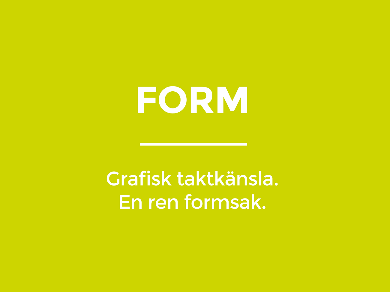 Grafisk form & webb | Stygg Media